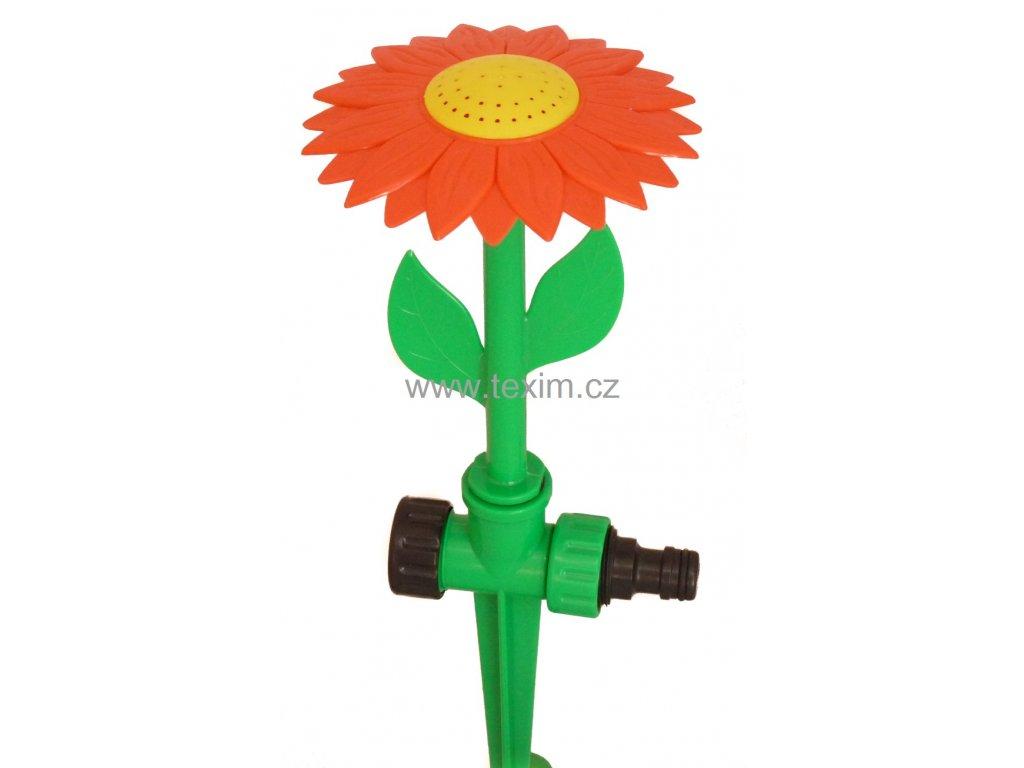 Postřikovač květina na plastovém hrotu  postřikovač