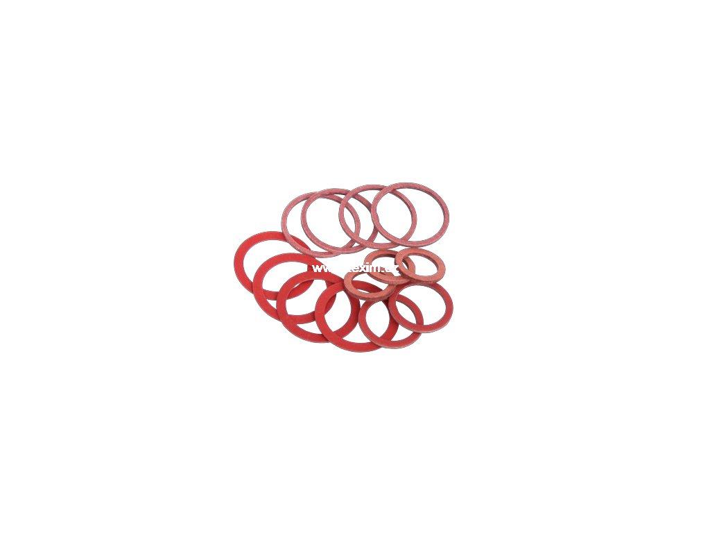 Těsnící kroužek fíbr 12x15x1