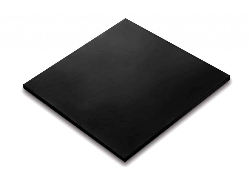 Pryžová deska SBR bez vložky 1mm 50x60cm
