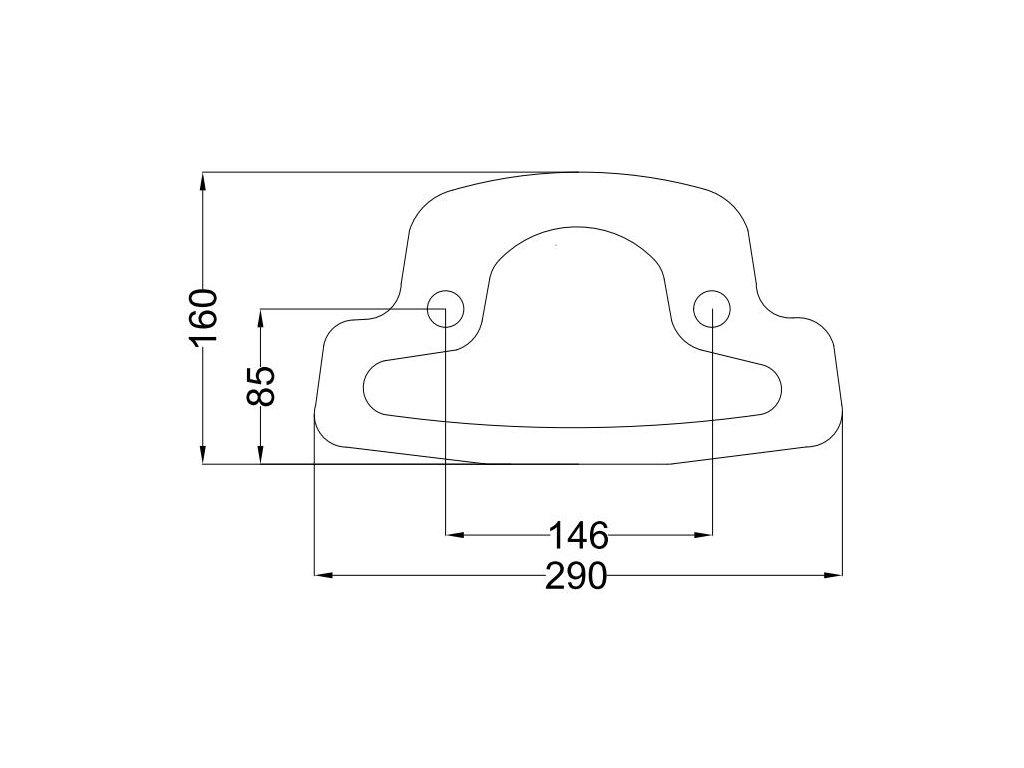 Těsnící podložka WC + nádrž kombi c.6