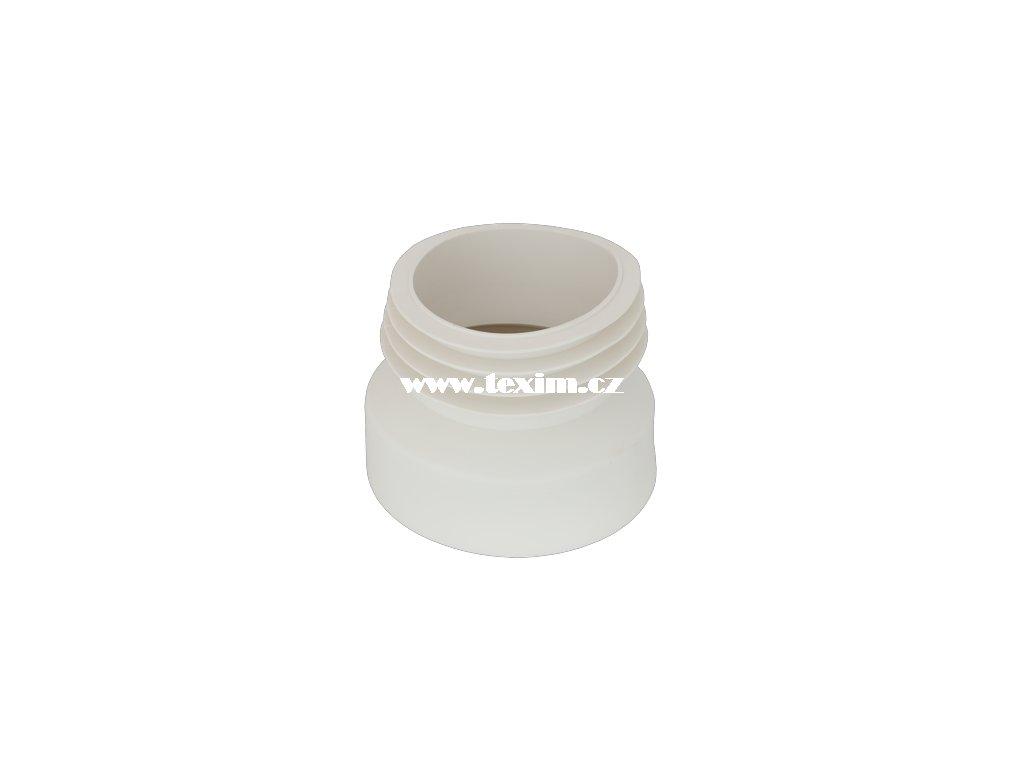 WC manžeta k odpadu-centrická PTE měkká