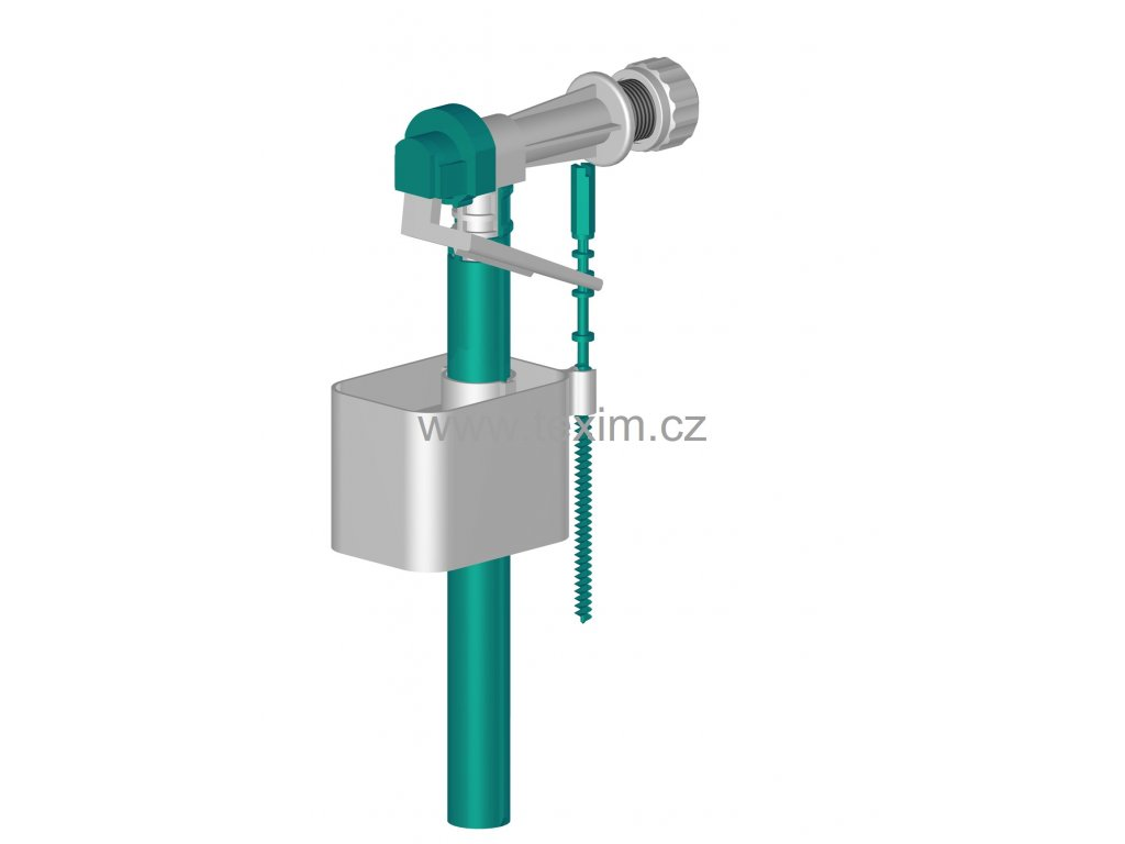 """Napouštěcí ventil boční přívod 3/8"""" TNV 2B  Tlakový plnoprůtokový"""
