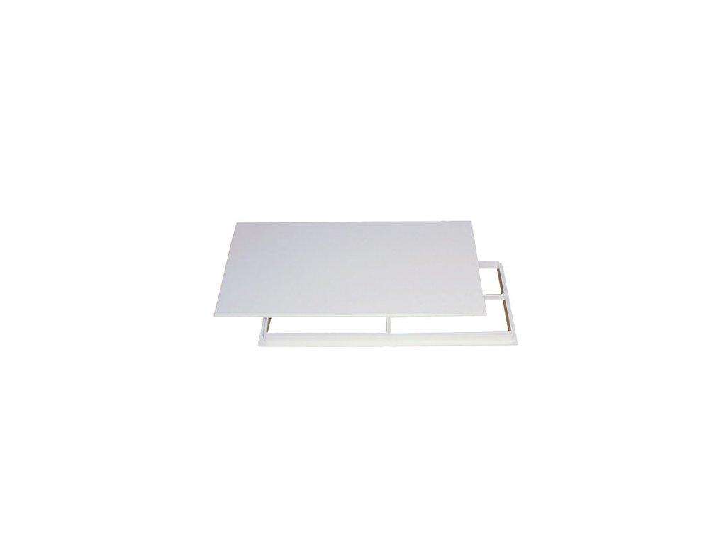 Vanová dvířka bílá 300x150 mm