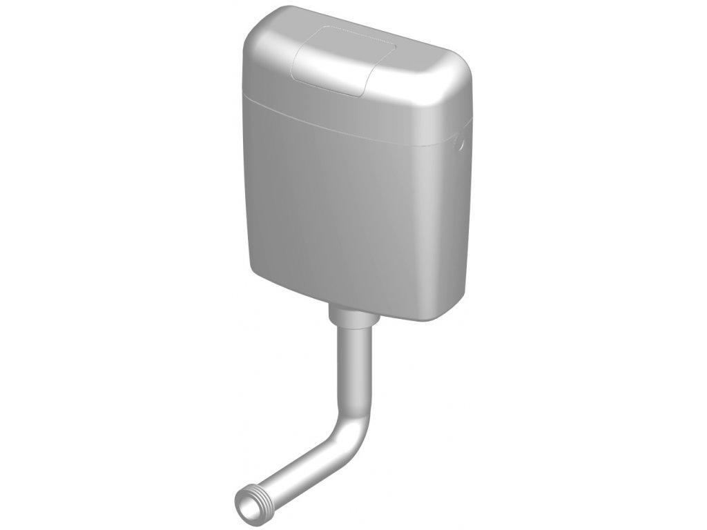 Nádržka splachovací WC P-2466A nízkopoložená