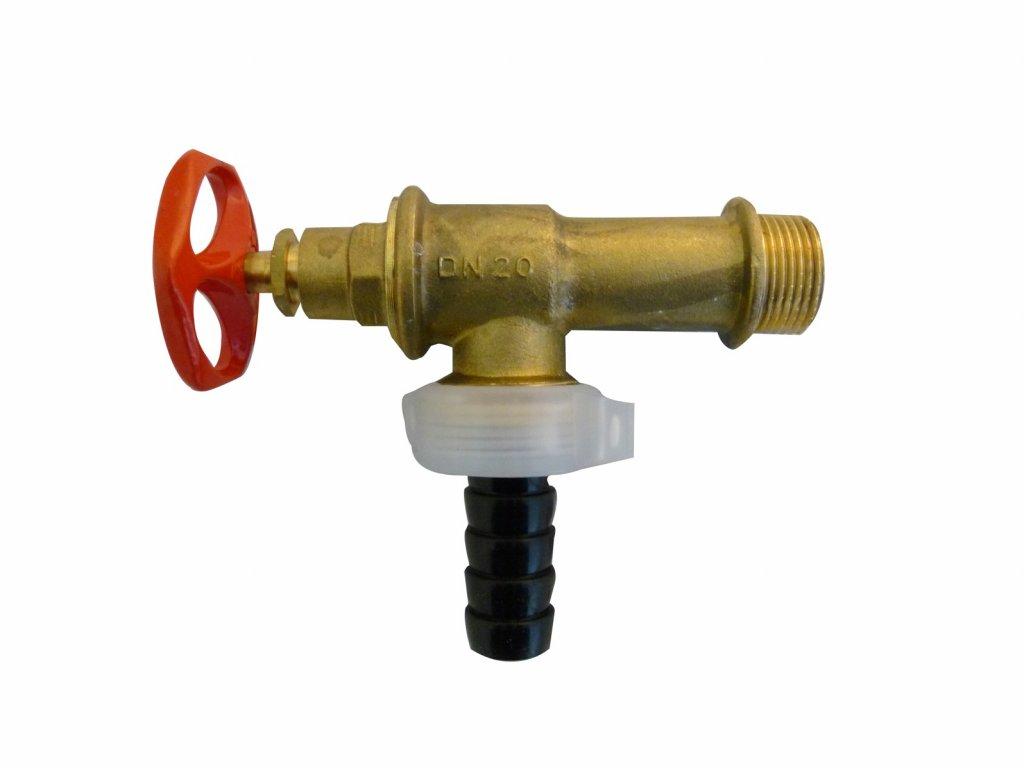 """Výtokový ventil zahradní 3/4"""" DN20 1KE-3T"""