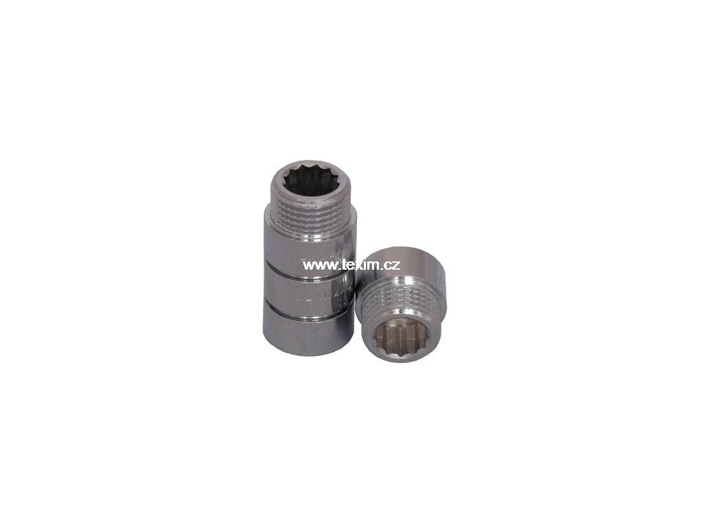 Prodloužení KE-263 Cr DN 15 x 20mm