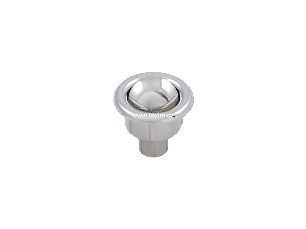 Splachovací tlačítko WC s pouzdrem chrom TE-4543 Myjava  pro Myjava TE 4543