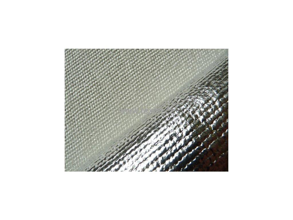 Izolační tkanina Fiberglass bez AL šíře 1m