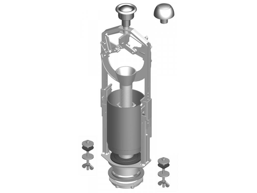 Vypouštěcí zařízení chrom TE-4543P/I