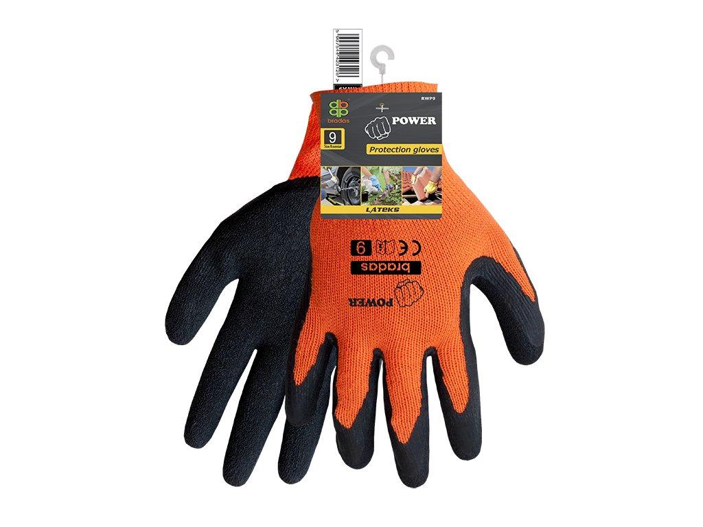 Pracovní rukavice POWER latex