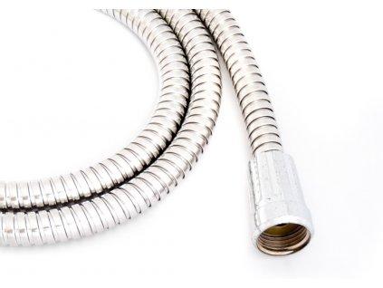 Sprchová hadice 1,5m FLEXI NEREZ Extensible 2-zámková  hadice 1,5m FLEXI NEREZ chrom
