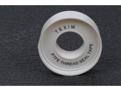 Teflonová páska 12 mm x 0,075 mm balení 10m  Teflonová páska cívka 12 mm x 0,075 mm