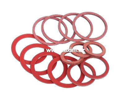 Těsnící kroužek fíbr 24x30x1,5