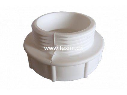 Plastová redukce závitu M 5/4 x F 6/4