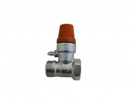 """Pojistný ventil k bojleru 1/2"""" Italy"""