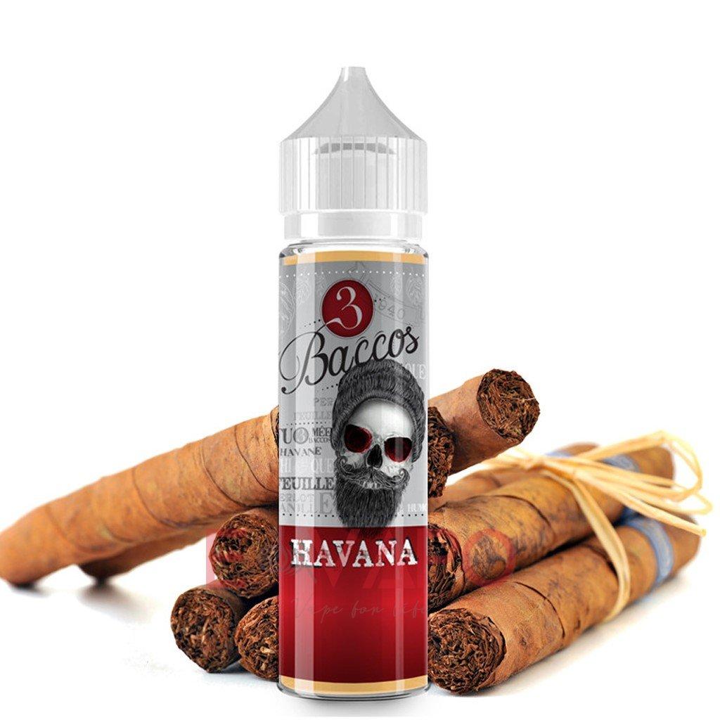Příchuť 3 Baccos S&V Havana (Doutníkový tabák) 15ml