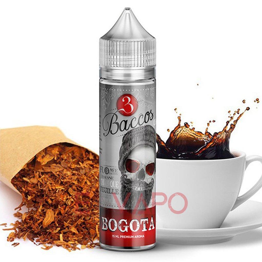 Příchuť 3 Baccos S&V Bogota (Tabáková směs s kávou) 15ml