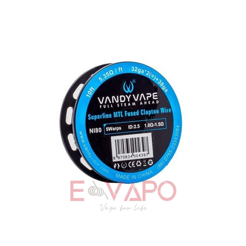 Vandy Vape Simple EX Superfine MTL Fused Clapton