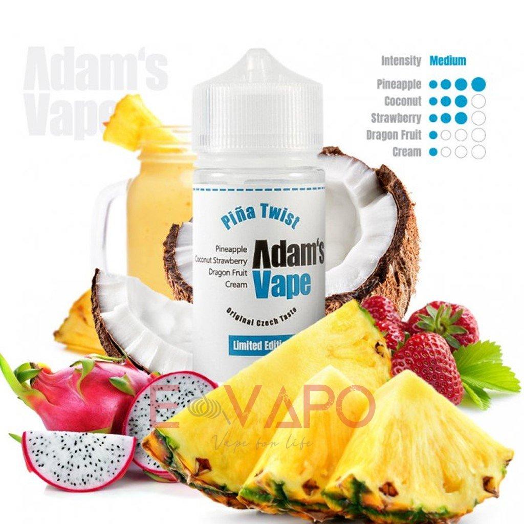 Příchuť Adam's Vape S&V - Piña Twist Limited Edition / Pina Colada s ovocem 20ml