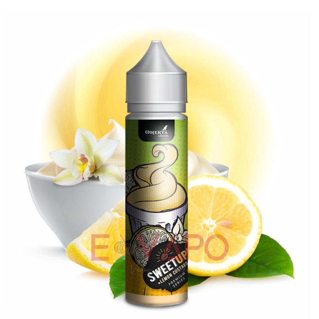 Příchuť Omerta SweetUp S&V Lemon Custard (Pudink s citronem) 20ml