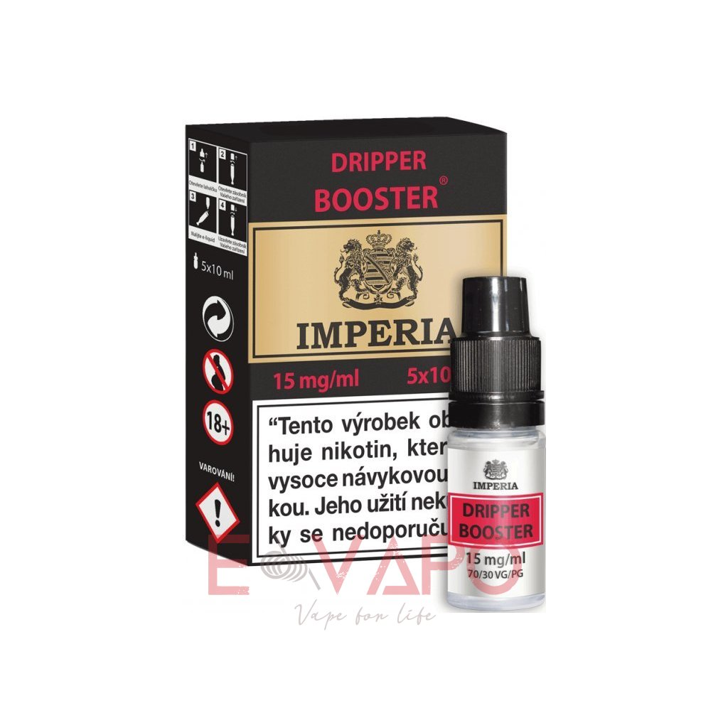 imperia 5x10ml pg30vg70 15mg