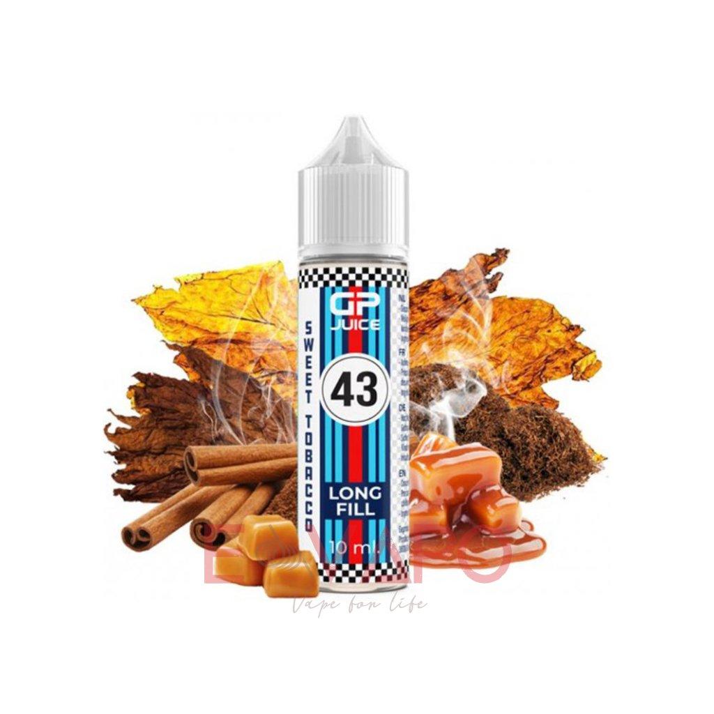 Příchuť GP Juice S&V - Tobacco Sweet 10ml