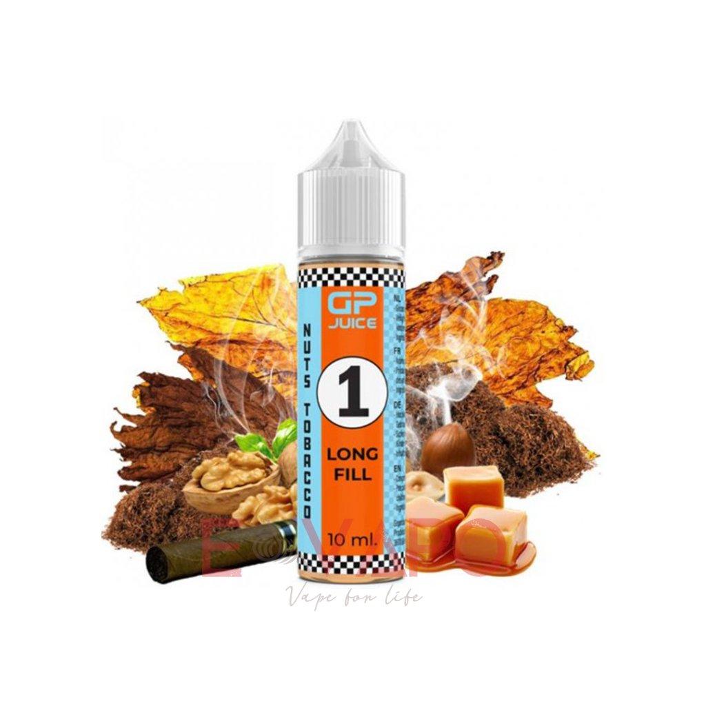 Příchuť GP Juice S&V - Tobacco Nuts 10ml