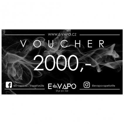 Dárkový voucher - 2000kč