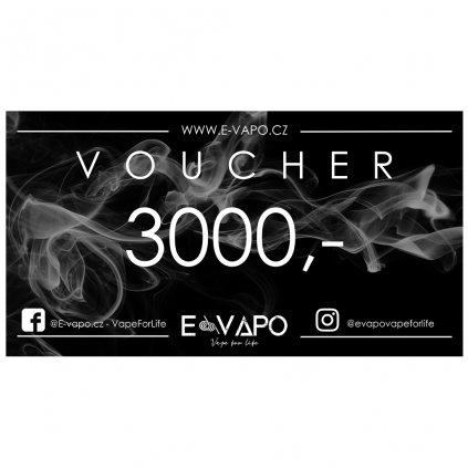 Dárkový voucher - 3000kč