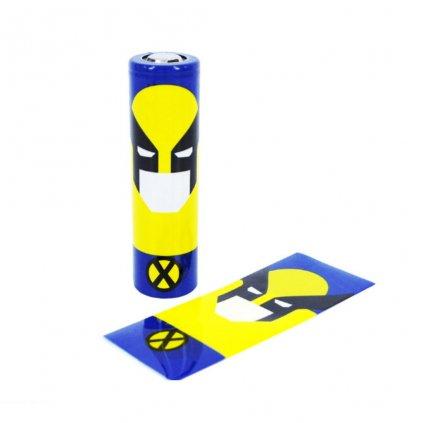 Smršťovací folie pro baterie 18650 (S motivem)
