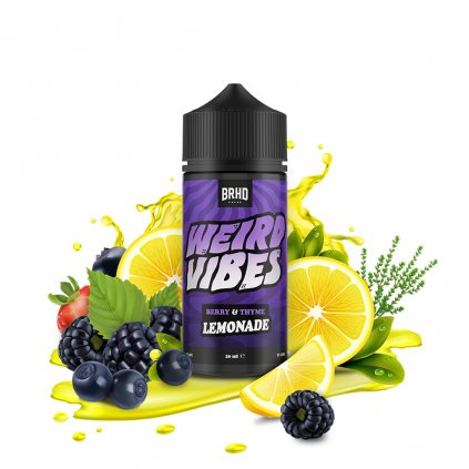 Berry thyme lemonade