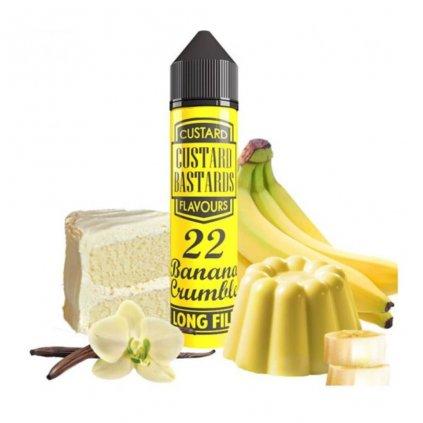 Flavormonks Custard Bastards No. 22 Banana Crumble