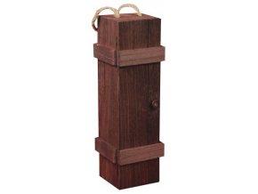 Box na 1 láhev - hnědý C0001