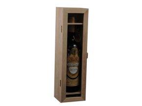 Box na 1 láhev - prosklený C0013