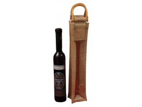 Jutová taška na víno J0006