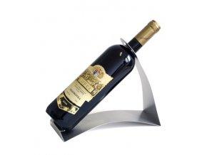 Nerezový stojan na 1 víno P0001