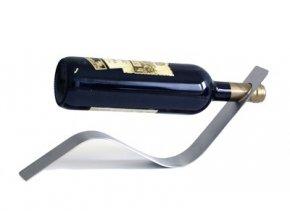 Nerezový stojan na 1 víno P0007