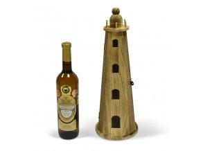 Box na 1 láhev, maják - dřevěný R0004