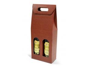 Kartónový box Bordeaux na 2 láhve SD006