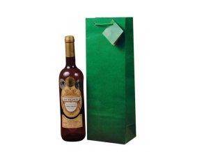 Papírová taška na 1 láhev T0007