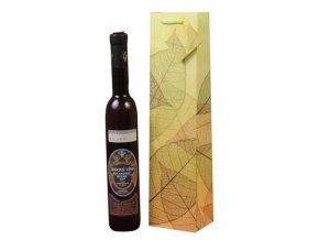 Papírová taška na ledové víno T0008