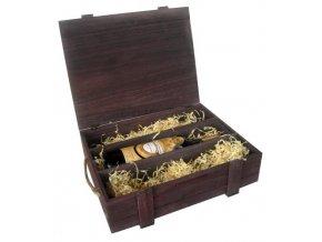 Box na 3 láhve – hnědý C0016