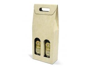 Kartónový box Sabbia na 2 láhve SD010