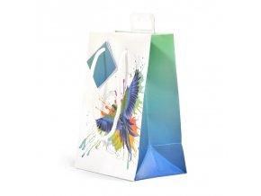 Papírová taška dárková, malá T0073