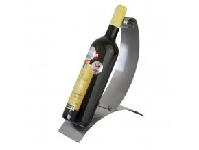 Nerezový stojan na 1 víno P0002