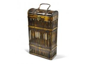 Bambusová krabička na 2 vína G0003