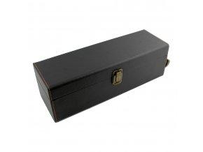 Box na 1 víno z umělé kůže s příslušenstvím MR006