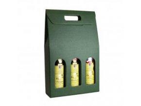 Kartónový box Verde na 3 láhve SD013