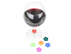Ozdobné kroužky na sklenice EA004