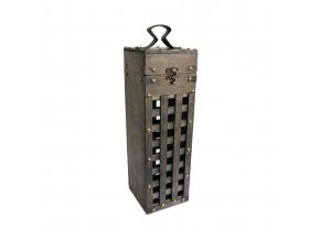 Dřevěná krabička na 1 víno F0025